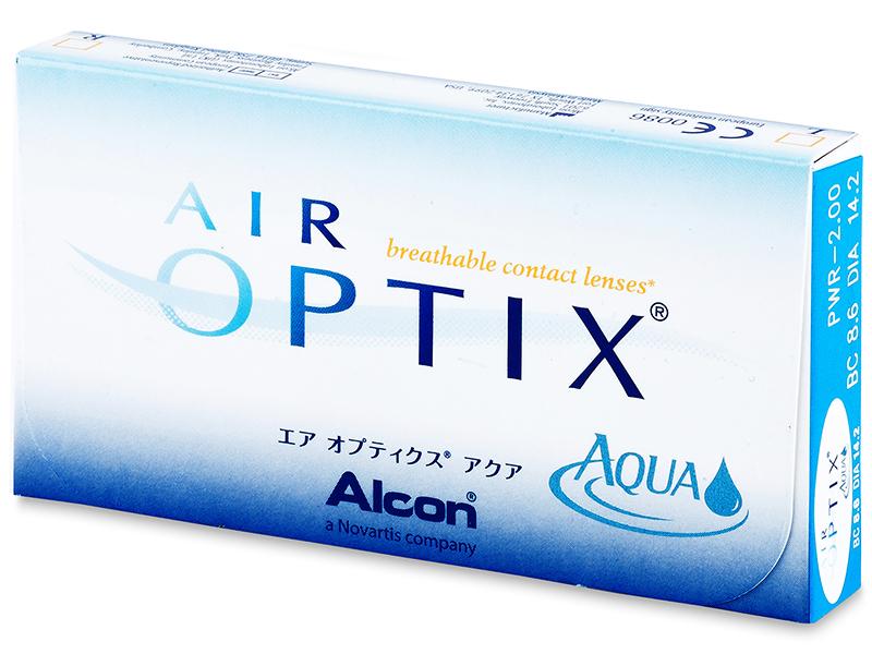 Air Optix Aqua (3шт.)