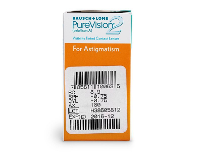 PureVision 2 HD for Astigmatism (6 шт.)