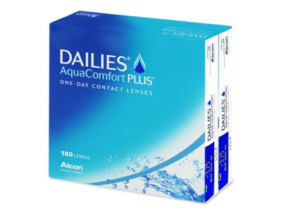 Dailies AquaComfort Plus (180 шт.)