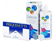 Frequency 55 (6шт.) +розчинGelone360ml