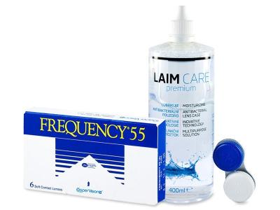 Frequency 55 (6шт.) +розчинLaim-Care400ml