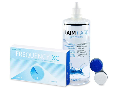 FREQUENCY XC (6 шт.) + розчин Laim-Care 400ml