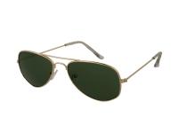 alensa.ua - Контактні лінзи - Дитячі сонцезахисні окуляри Alensa Pilot Gold