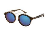 alensa.ua - Контактні лінзи - Дитячі сонцезахисні окуляри Alensa Panto Havana Blue Mirror