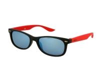 alensa.ua - Контактні лінзи - Дитячі сонцезахисні окуляри Alensa Sport Black Red Mirror