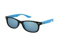 alensa.ua - Контактні лінзи - Дитячі сонцезахисні окуляри Alensa Sport Black Blue Mirror