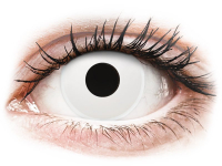 alensa.ua - Контактні лінзи - ColourVUE Crazy Lens - WhiteOut - недіоптричні