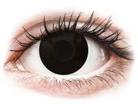 alensa.ua - Контактні лінзи - ColourVUE Crazy Lens - BlackOut - діоптричні