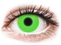 alensa.ua - Контактні лінзи - ColourVUE Crazy Glow Green - недіоптричні