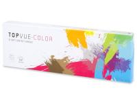 TopVue Color daily - Blue - недіоптричні (10шт.)