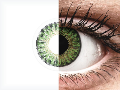 TopVue Color daily - Green - недіоптричні (10шт.)