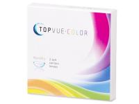 TopVue Color - Brown - діоптричні (2шт.)