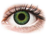 alensa.ua - Контактні лінзи - ColourVUE Fusion Green Yellow - діоптричні