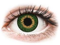 alensa.ua - Контактні лінзи - Expressions Colors Green - діоптричні