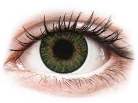 alensa.ua - Контактні лінзи - FreshLook ColorBlends Gemstone Green - діоптричні