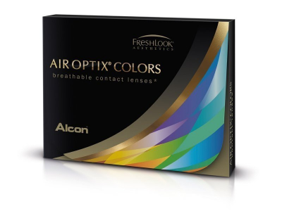 Air Optix Colors - Brilliant Blue - недіоптричні (2 шт.)