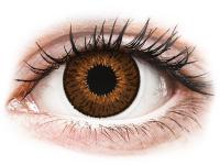 alensa.ua - Контактні лінзи - Expressions Colors Brown - діоптричні
