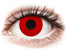 ColourVUE Crazy Lens - Red Devil - Одноденні недіоптричні (2 шт.)