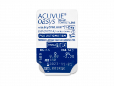 Acuvue Oasys 1-Day with HydraLuxe for Astigmatism (30 лінз)