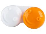 alensa.ua - Контактні лінзи - 3D контейнер для лінз - помаранчевий
