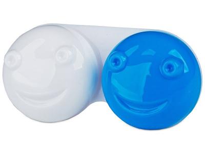 3D контейнер для лінз - блакитний