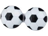 alensa.ua - Контактні лінзи - Контейнер для лінз Football - чорний