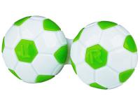 alensa.ua - Контактні лінзи - Контейнер для лінз Football - зелений