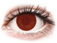 alensa.ua - Контактні лінзи - ColourVUE Crazy Lens - Red Screen - недіоптричні