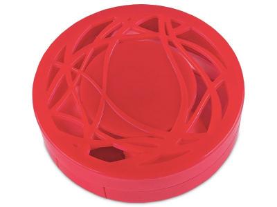 Кейс для лінз з орнаментом - червоний