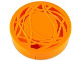 alensa.ua - Контактні лінзи - Кейс з орнаментом - помаранчевий