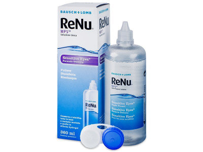 Розчин ReNu MPS Sensitive Eyes 360 ml