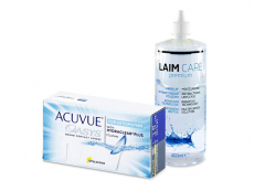 Acuvue Oasys for Astigmatism (12 шт.) + Розчин Laim-Care 400 ml
