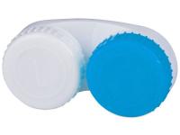 alensa.ua - Контактні лінзи - Контейнер для лінз біло-синій L+R