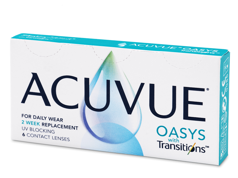 Acuvue Oasys with Transitions (6 лінз)