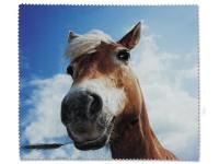 alensa.ua - Контактні лінзи - Серветка з мікрофібри для очищення окулярів - Кінь