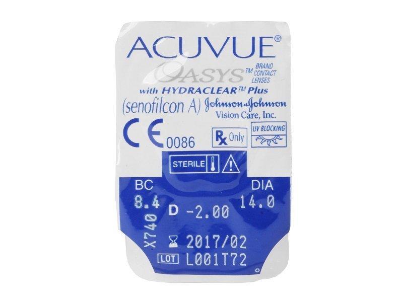 Acuvue Oasys (2 шт.)