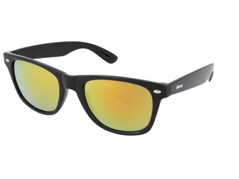 Сонцезахисні окуляри Alensa Sport Black Orange Mirror  | Alensa UAvirtual-try