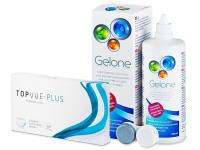 TopVue Monthly Plus (6 лінз) +розчин Gelone360мл.
