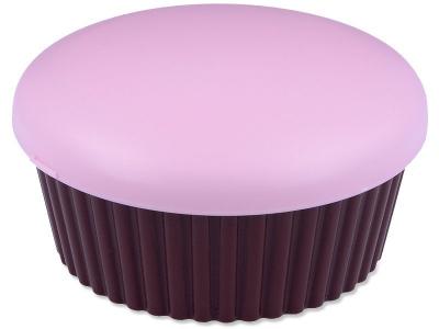 Кейс для лінз з дзеркальцем Muffin - pink