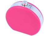 Кейс для лінз з дзеркальцем Flacon - pink