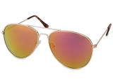 alensa.ua - Контактні лінзи - Сонцезахисні окуляри Gold Aviator - Pink/Orange