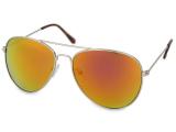 alensa.ua - Контактні лінзи - Сонцезахисні окуляри Silver Aviator - Pink/Orange