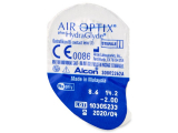 Air Optix plus HydraGlyde (3 шт.)