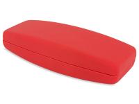 alensa.ua - Контактні лінзи - Твердий футляр для окулярів - червоний