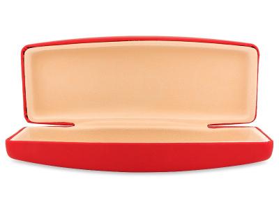 Твердий футляр для окулярів - червоний