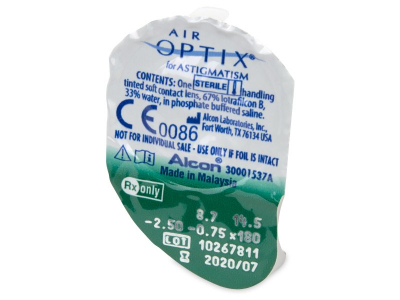 Air Optix for Astigmatism (3 шт.)