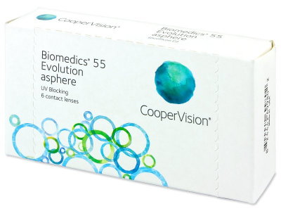 Biomedics 55 Evolution (6 шт.)