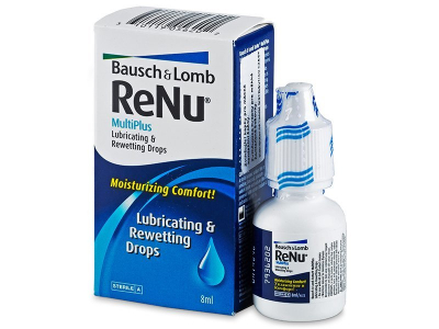 Очні краплі ReNu MultiPlus Drops 8 ml