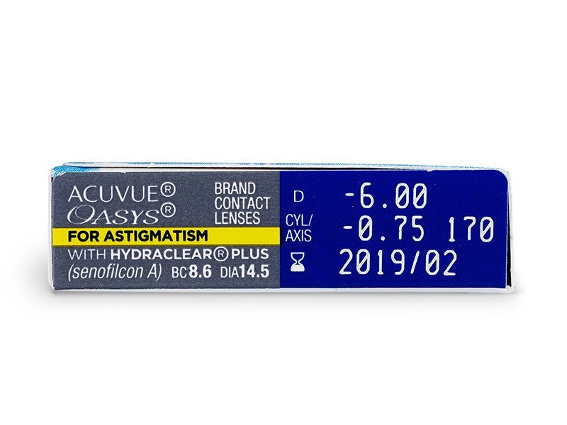 Acuvue Oasys for Astigmatism (6 шт.)