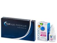 TopVue Premium (6 лінз) + краплі для очей Gelone 10 ml БЕЗКОШТОВНО